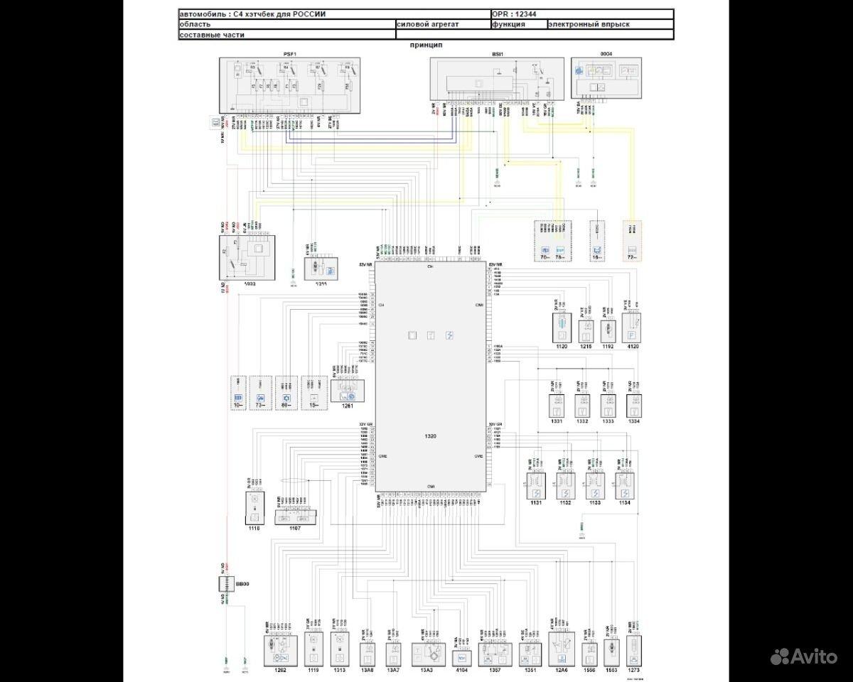 Схема предохранителей ситроен с4 2012 хэтчбек