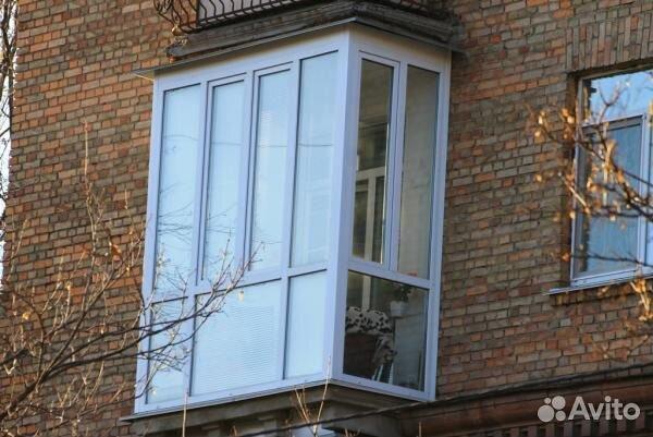 Остекление балкона в сталинке с бесплатным демонтажем..