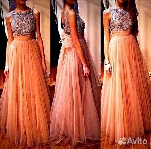 Платья вечернее длинное