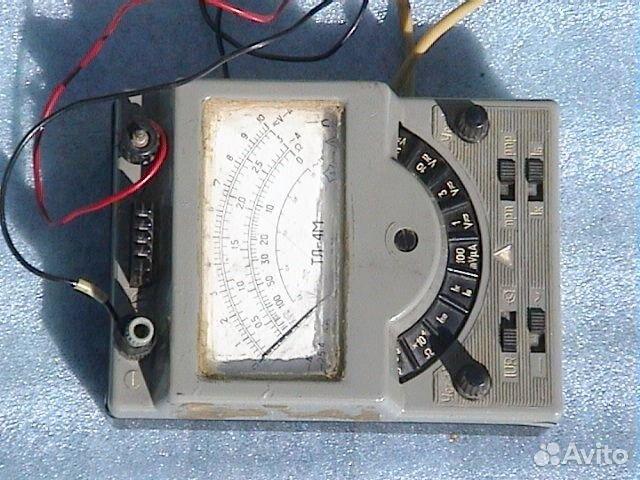 Ампервольтомметр-испытатель транзисторов тл-4М.