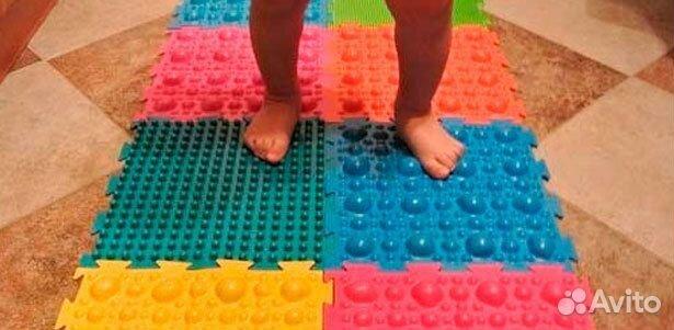 Ортопедические массажные коврики для детей. своими руками