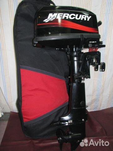 подвесной 2 тактный лодочный мотор меркурий