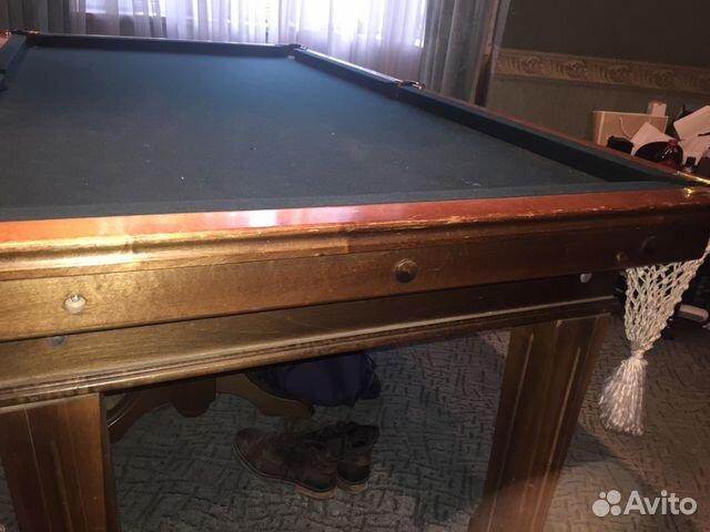 Бильярдный стол бу