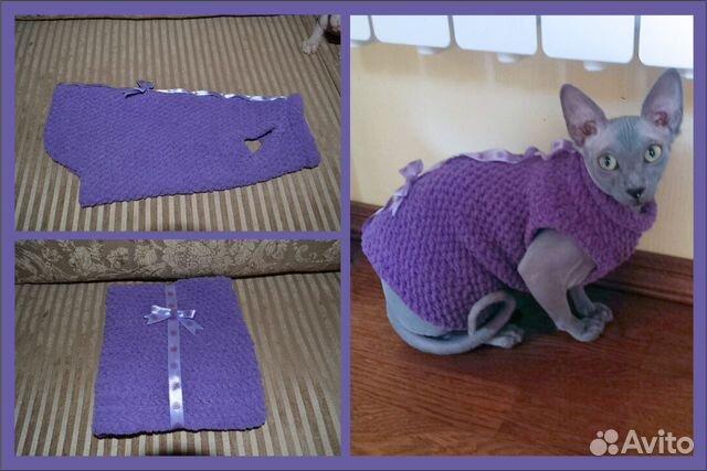 Одежда для кошек  из старых вещей