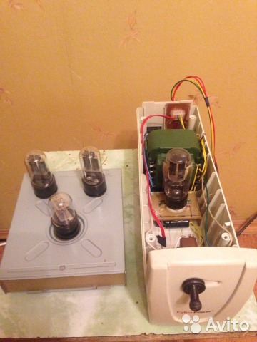 Ламповый фонокорректор самодельный