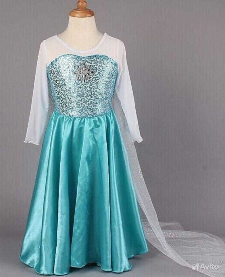 Купить платье эльзы из холодного сердца для девочек в москве - c45