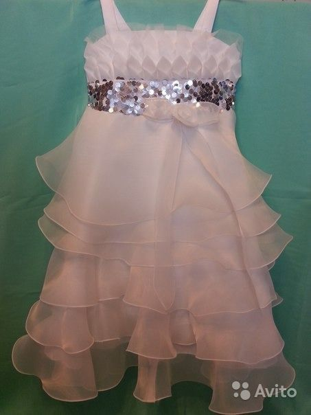 db7189e21cc1c2e Нарядное белое платье прокат или продажа | Festima.Ru - Мониторинг ...