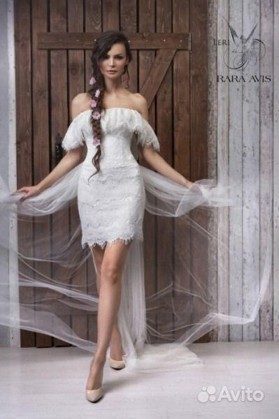 Необычное свадебное платье   Festima.Ru - Мониторинг объявлений ef0a7725975