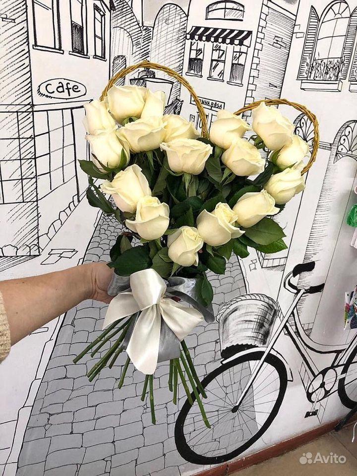 Букет Сердце купить на Зозу.ру - фотография № 5