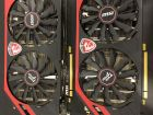 Продаю msi geforce 780 ti gaming 2шт