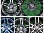 Огромный выбор колес на Mercedes r18 r19 r20 r21