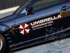 Наклейка корпорация umbrella