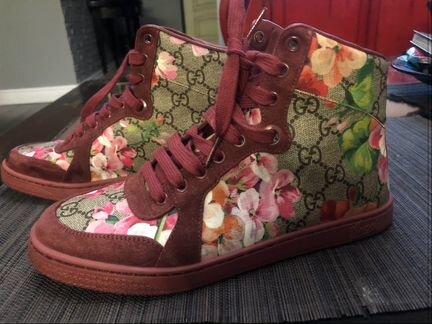 gucci кеды - Сапоги, туфли, угги - купить женскую обувь в Москве на ... aedb6305c6a