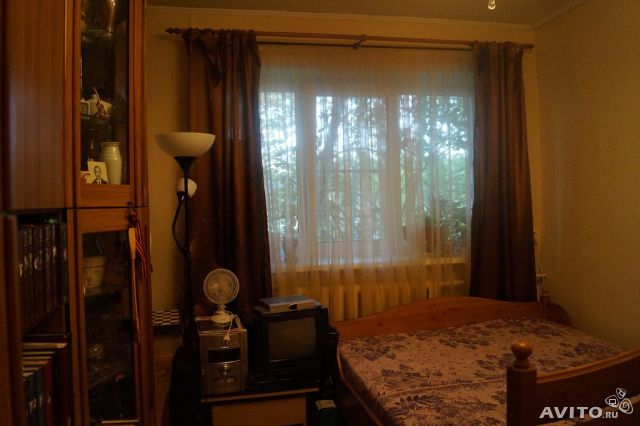 2-room apartment, 45 m2, 2/2 floor.  buy 3