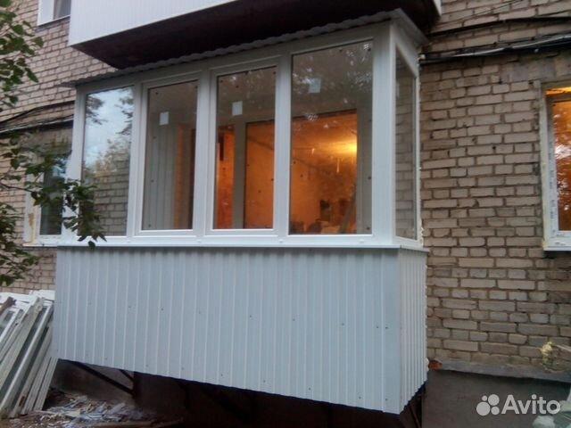 Услуги - навесные балконы, пластиковые окна в тульской облас.