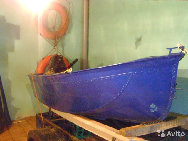 лодка ерш из металла