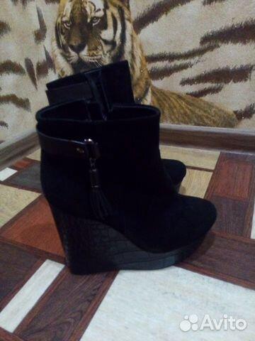 Зимние ботинки на платформе   Festima.Ru - Мониторинг объявлений 3ea69713ede