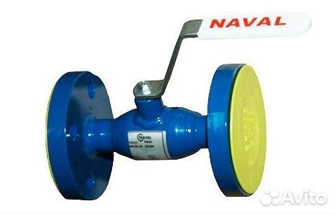 кран шаровой фланцевый naval ду50 ру40