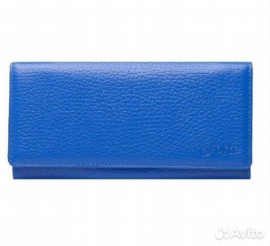 6f7bb41d84fc Кошелек женский, синий, кожаный купить в Санкт-Петербурге на Avito ...