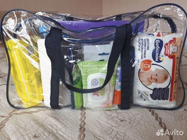 Сумка в роддом, наборы для мамы и малыша - Сумка в роддом