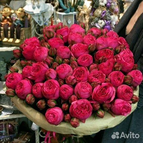 Мелкие розы в букете — photo 3