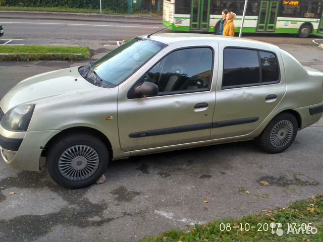 Renault Symbol 2003 Avito