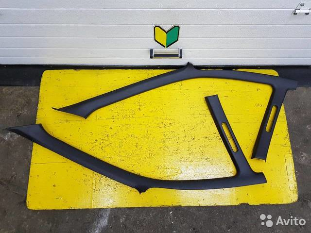 89625003353 Стойки лобового стекла комплект Subaru Impreza, EJ
