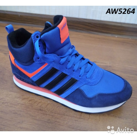 898c3b34 Кроссовки кожаные Adidas NEO 10XT WTR AW5264 | Festima.Ru ...
