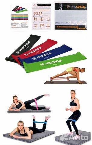 Резинки для фитнеса 5 шт. купить в Кандрах