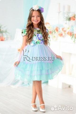 5ca8bff6ed53257 Нарядное платье+ободок купить в Рязанской области на Avito ...
