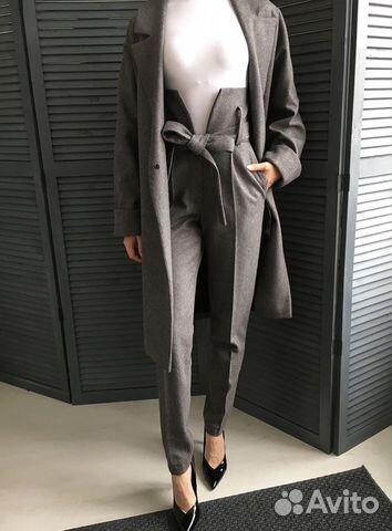 642cdf73faed82 Дизайнерские брюки с завышенной талией купить в Санкт-Петербурге на ...