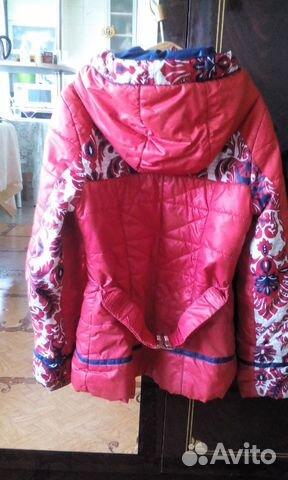 Куртка демисезонная. Рост 140 89243575950 купить 2