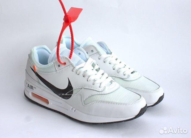 7b6377a1 Кроссовки Nike Air Max 1 Off White Белые (41 EUR) | Festima.Ru ...