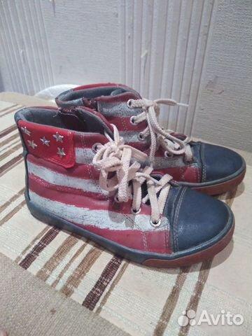 Ботинки на холодное лето, весну, осень, 30 размер 89815055044 купить 1