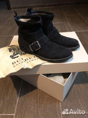 a87541ce5b77 Ботинки Burberry купить в Москве на Avito — Объявления на сайте Авито