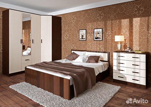 модульная спальня калипсо купить в пермском крае на Avito