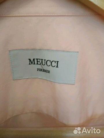 1169036a6daf88c Рубашка сорочка meucci. Мужская бледно розовая купить в Москве на ...