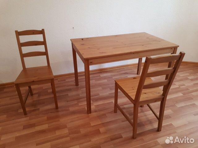Ikea икеа на кухню стол обеденный стулья йокмокк Festimaru