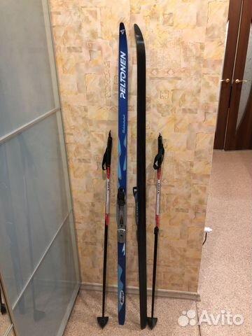 Комплект-беговые лыжи Peltonen 158 см+палки   Festima.Ru ... 4366cd2017a