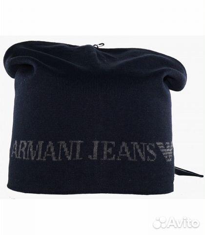 Шапка Armani Jeans   Festima.Ru - Мониторинг объявлений f557950d148