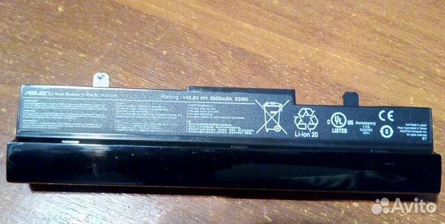 Акб батарея для нетбука Asus Eee PC 1001 1005 1101 89787806580 купить 2