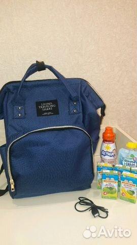 76ce36f4dce9 Рюкзак- сумка для мамы. USB порт   Festima.Ru - Мониторинг объявлений