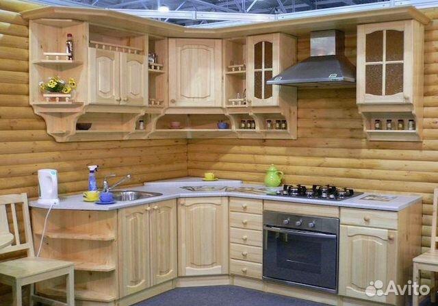 67f2ecf8c4ef6 Кухня из массива