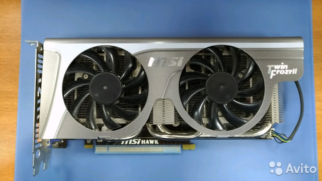 Видеокарта MSI GeForce GTX 460 1Gb Hawk