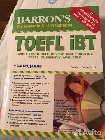 Edition book toefl 13th barrons ibt