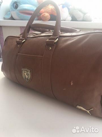 bdca2861b56b Спортивная сумка puma Ferrari купить в Челябинской области на Avito ...