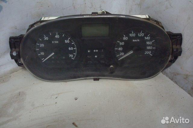89657347629 Renault Logan панель приборов