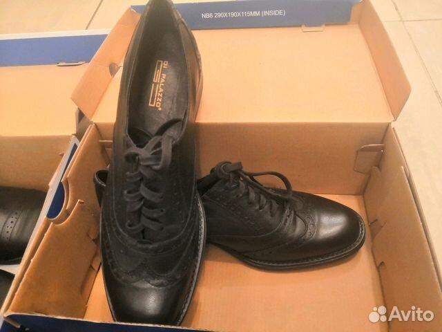5c319b1a1 Обувь туфли мужская/детская натуральная кожа 39 купить в Москве на ...