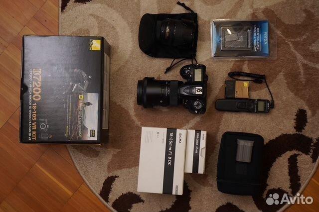 Nikon D7200 + Sigma 18-35 mm f/1.8 Art 89522502170 купить 3