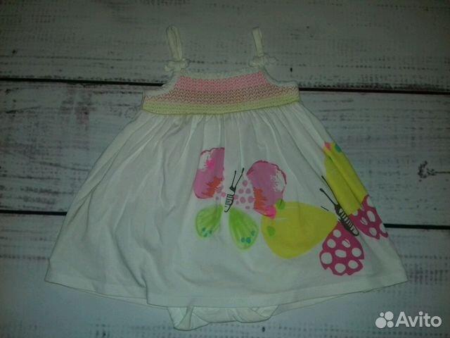 Боди платье Mothercare 9-12 мес 89231409967 купить 1